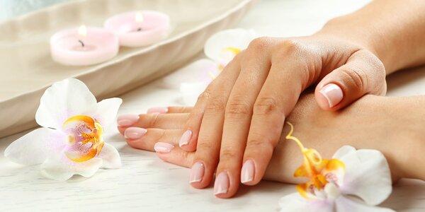 Péče o ruce: manikúra, masáž i s možností P.shine