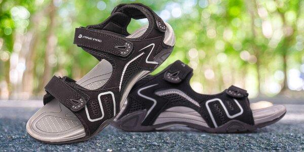 Černé pánské sandály Alpine Pro, různé velikosti