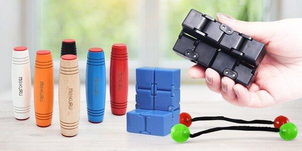 Proti stresu: Magic Cube, Thumb Chucks a Mokuru