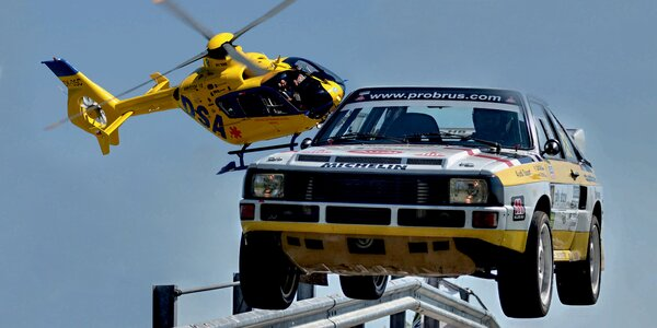 Adrenalinová Rally a Helicopter Show
