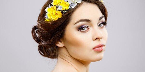 1 či 3 kosmetické ošetření i úprava obočí a řas
