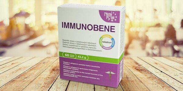Doplněk stravy Nutristar Immunobene, 60 kapslí