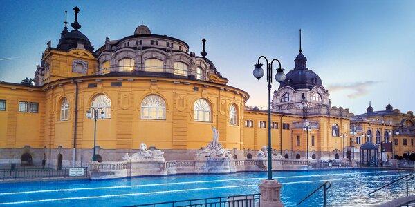 2–3 noci v apartmánech v centru Budapešti