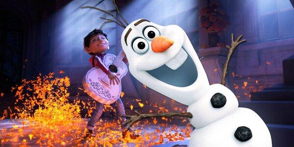 Do kina s dětmi: Coco a Ledové království