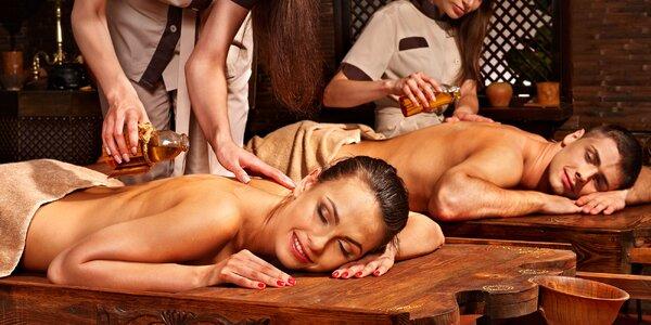 Partnerská královská masáž v centru Prahy