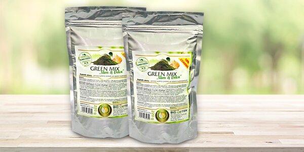 Směs superpotravin Green Mix pro zdraví a detox