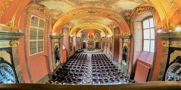 Koncert v Zrcadlové kapli Klementina