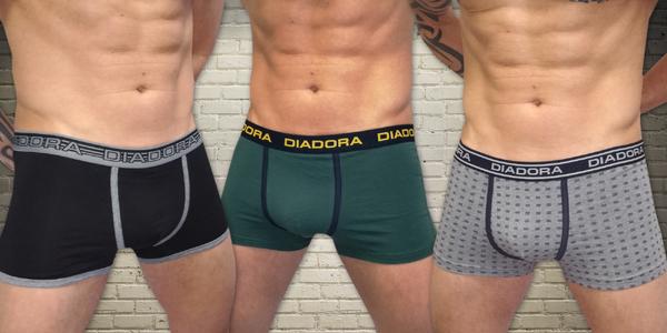 Pánské boxerky Diadora ve výhodném trojbalení