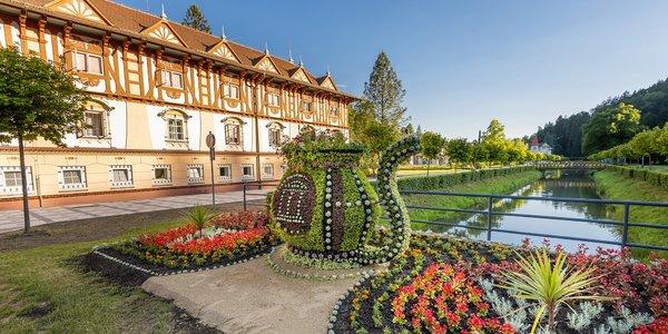 Léto v Luhačovicích: wellness, masáž a polopenze