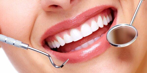 Dentální hygiena a odstranění pigmentových skvrn
