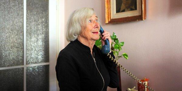 Přispějte na provoz linky pro seniory v nouzi