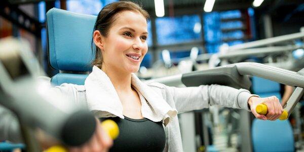 1 vstup či měsíční permanentka do fitness centra