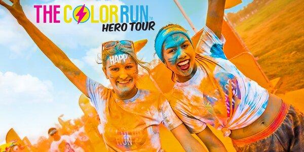 Startovné na barevný běh The Color Run™