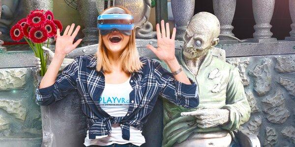 Virtuální realita se zombíky až pro 2 na hodinu