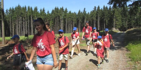 Dětský sportovní tábor v Hostýnských vrších