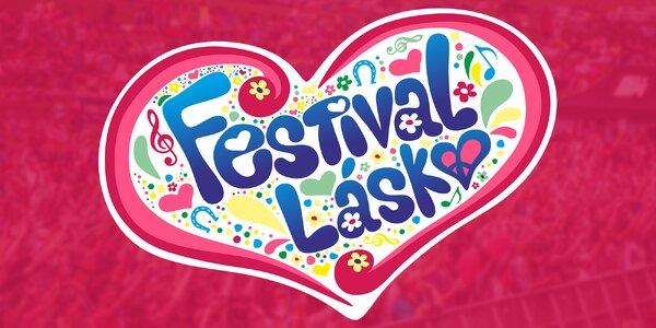 Vstupenka na festival plný lásky pro dva