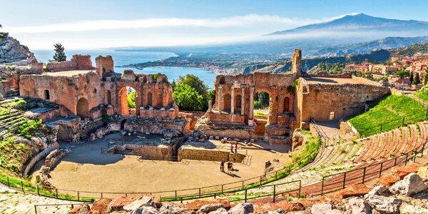Poznejte Sicílii: doprava, 6 nocí a polopenze