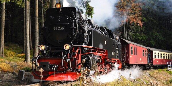 Na výlet do Saska: parní vlak i skalní hrad