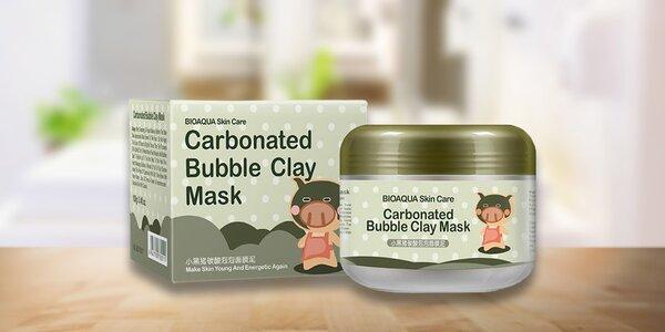 Bublinková maska s bambusovým uhlím
