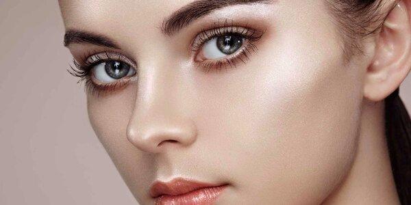 Precizní úprava obočí a depilace obličeje