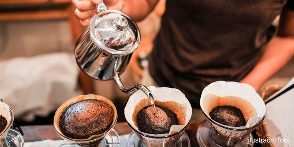 Degustace 4 druhů filtrované kávy s výkladem