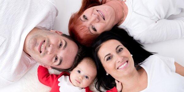 Focení pro budoucí maminky nebo pro celou rodinu
