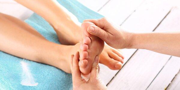 45minutová masáž pro unavené nohy