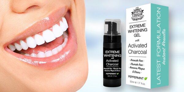 Bělící gel na zuby s aktivním uhlím