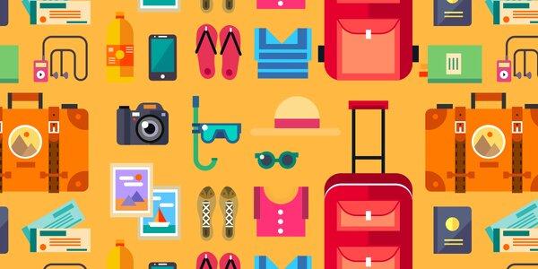 Letní oblečení a boty