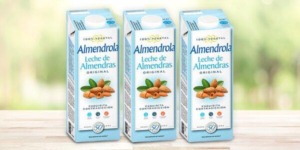 Mandlový nápoj Almendrola bez lepku a laktózy