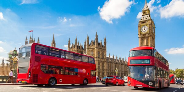 Londýn letecky s programem, průvodcem i snídaní
