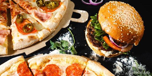 Vyberte si 2 pizzy dle chuti k vyzvednutí ve Flash foodu