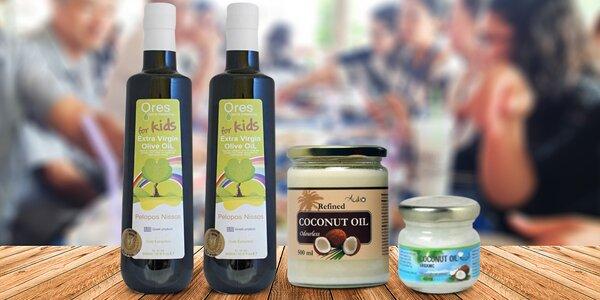 Extra panenský olivový olej pro děti