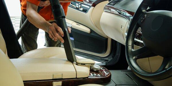 Nechte si vyčistit vůz: zevnitř i zvenčí