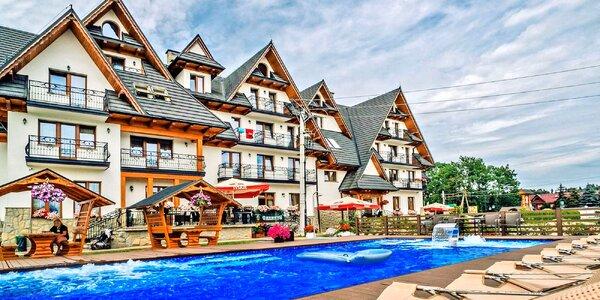 Letní dovolená s polopenzí v polských Tatrách