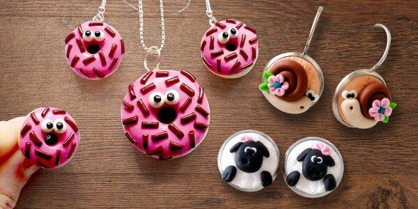 Šperky k nakousnutí: ruční výroba z Fima