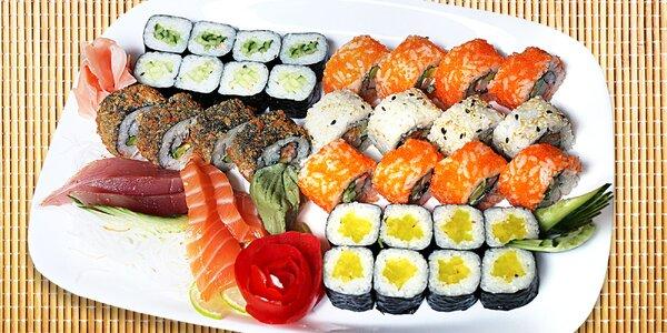 Sushi sety 22, 35 a 36 ks i s polévkou