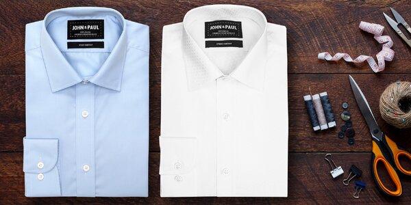 Pánské košile John & Paul vyrobené v ČR