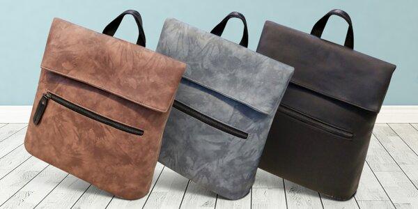Batoh a elegantní kabelka 2 v 1