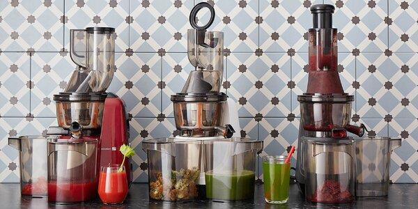 Odšťavňovač ve 3 barvách se sítem na zmrzlinu