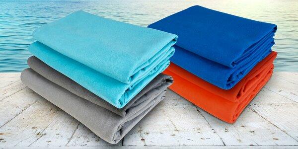 Sada dvou rychleschnoucích fitness ručníků