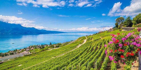 Výlet do Švýcarska: Ženeva, slavné vinice v Lavaux