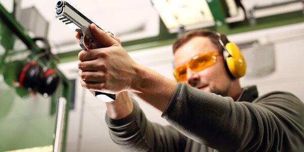 Střelnice v Mikulově: revolver, puška i samopal