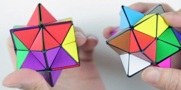 Novinka: Starcube - geomatrická puzzle kostka