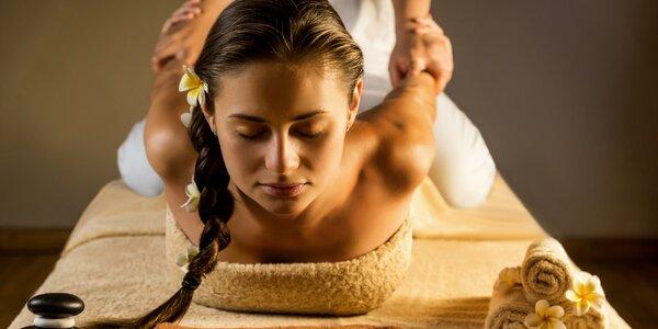 120–150 minut hýčkání: Komplexní masáž a rybky