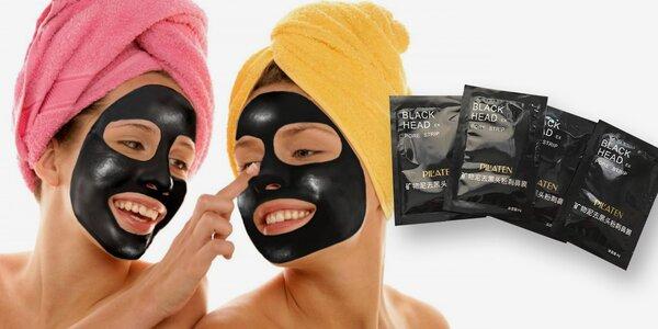 Korejská černá maska Pilaten s aktivním uhlím
