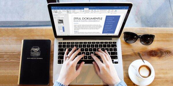 Online kurzy Office s neomezeným přístupem