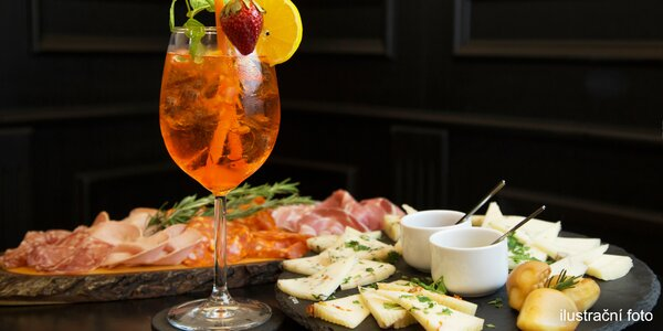 Talíř dobrot a Aperol, Prosecco nebo víno
