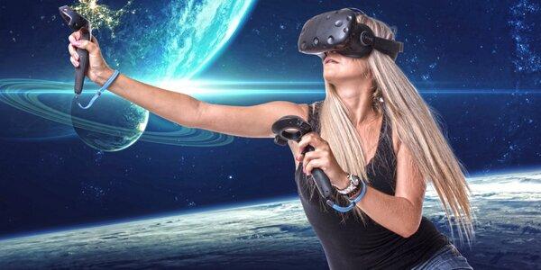 Hodina ve virtuální realitě pro 1 pařiče