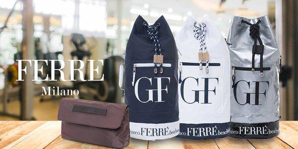 Vaky na záda a kosmetická taštička GF Ferré Italy